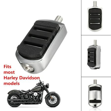 Shift Shifter Peg Streamliner Style Rear Foot Pedal For Harley Davidson Black US