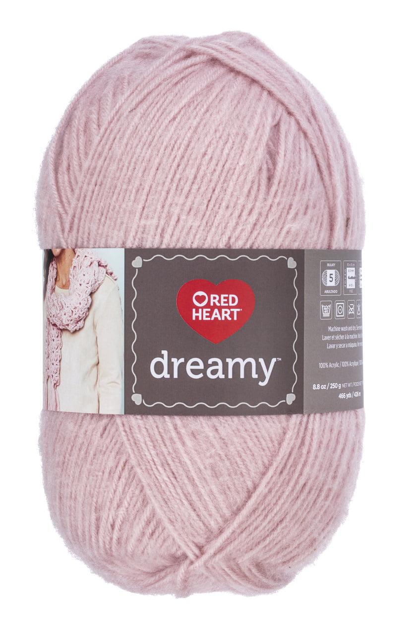 Red Heart Dreamy Yarn-rose