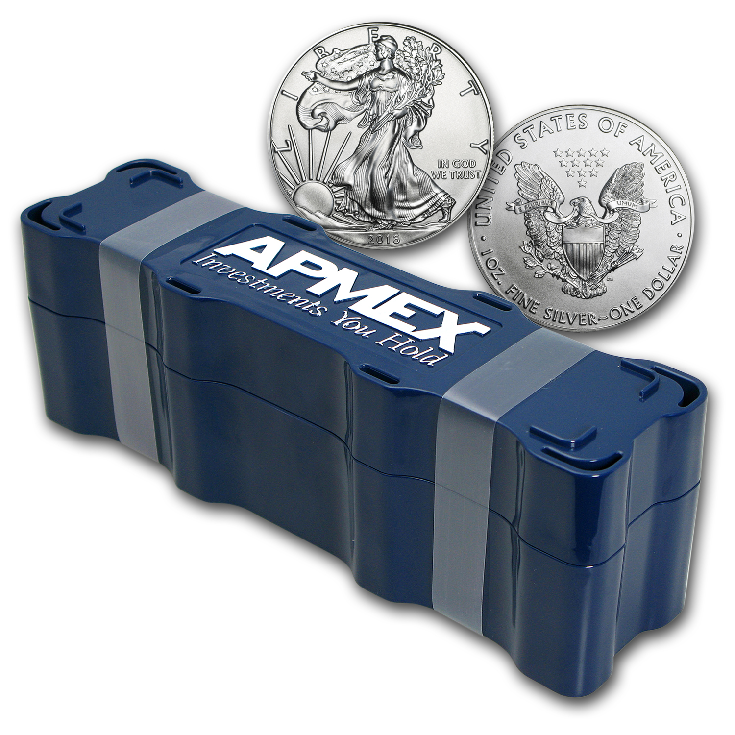 2016 100-Coin Silver American Eagle APMEX Mini Monster Box
