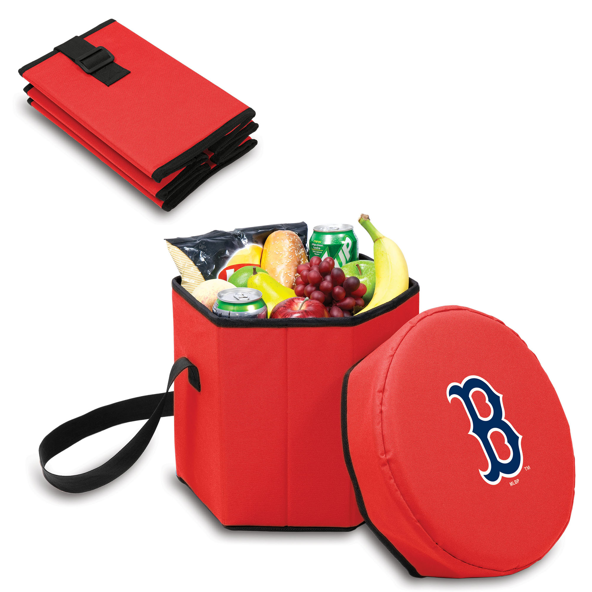 Boston Red Sox 12 Quart Bongo Cooler - Red - No Size