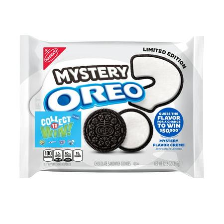Oreo Mystery Sandwich Cookies - 12.2oz
