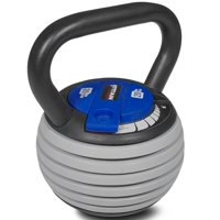 Titan Fitness 5 - 20 lb Adjustable Kettlebell Weight Lifting Swing Workout