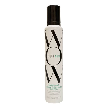 Color Wow Brass Banned Mousse Dark Hair 6 8 Oz