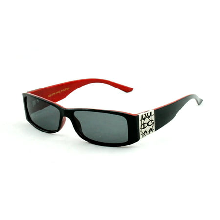 Newbee Fashion - IG212PR Polarized Lens Womens Plastic Fashion Sunglasses