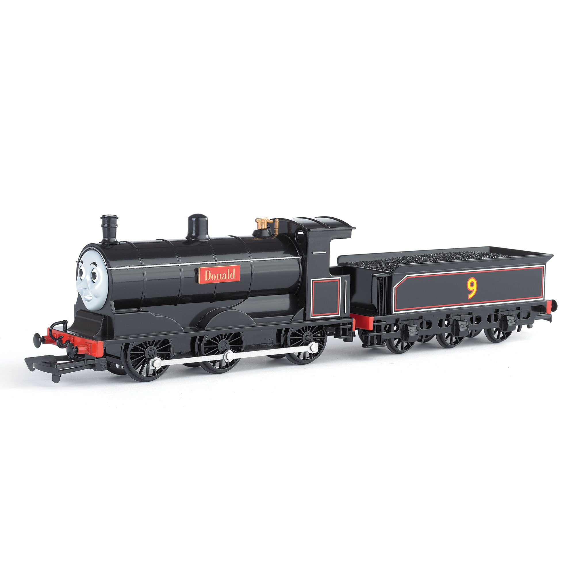 Bachmann Trains Thomas and Friends Donald Locomotive with Moving Eyes, HO Scale Train by Bachmann