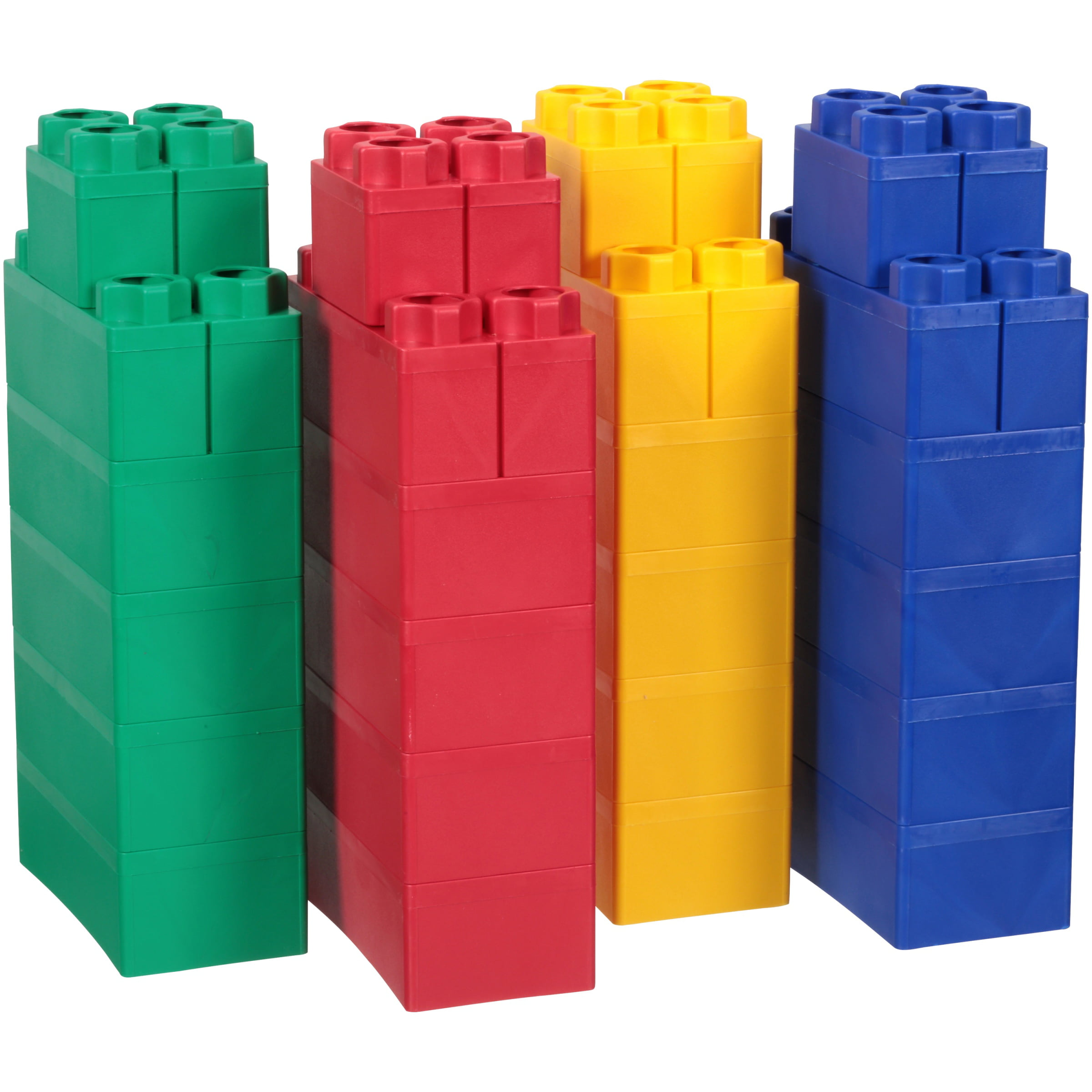 Jumbo Blocks Beginner Set 24 pc Box by Serec Entertainment LLC