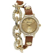 Brinley Co Women's Leather Band Wrap Wat