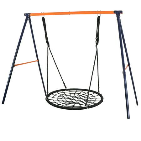 Play Metal (Zeny Metal A-Frame Lawn Swing Frame Fun Play + 40