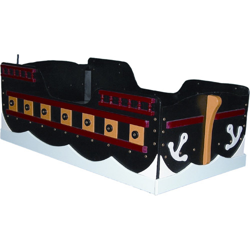 Just Kids Stuff Pirate Ship Toddler Bed