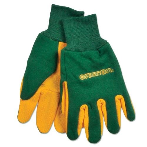 Oregon Ducks Official NCAA One Size Sport Utility Work Gloves by Wincraft