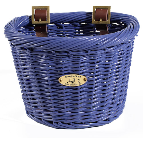 Gull Collection Children's Bicycle Basket, Purple