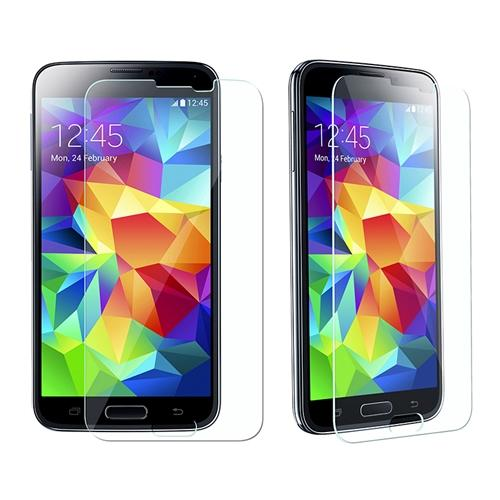 Insten Premium Tempered Glass Screen Protector For Samsung Galaxy S5 (Shatter-Proof)
