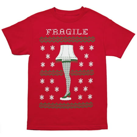 Christmas Story Fragile Leg Lamp T-Shirt ()