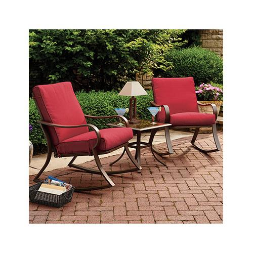 Courtyard Creations RUS0097 Bantry Bay Seating Set Steel