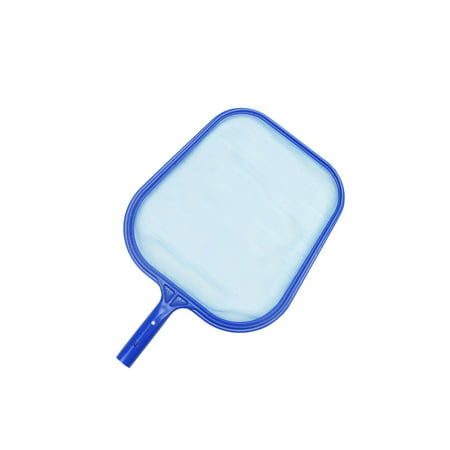 Standard Blue Plastic Swimming Pool Leaf Skimmer Head - Fits Most Poles