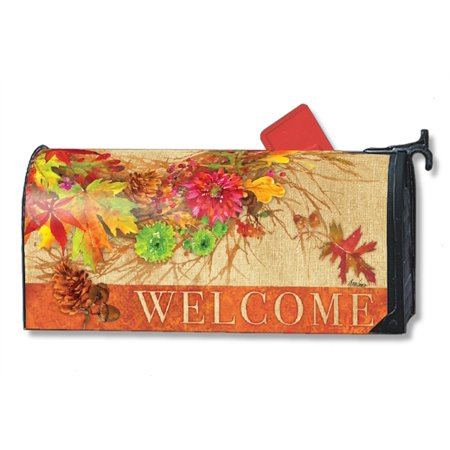 Magnet Works Autumn Wreath Magnetic Mailbox Wrap Cover