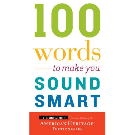 100 Words to Make You Sound Smart (Make A Word With The Letters Listed)