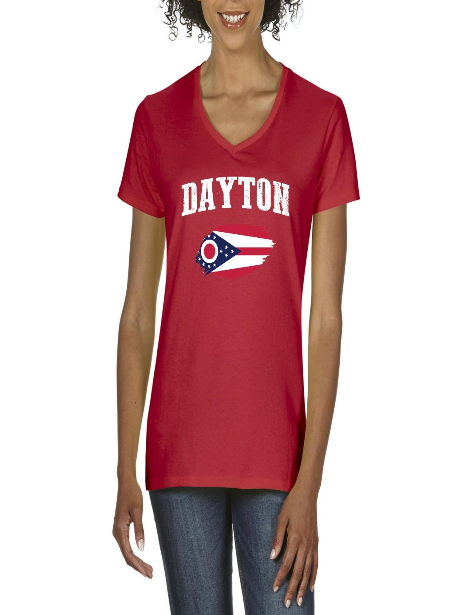 Normal Is Boring Dayton Ohio Women V Neck T Shirt Walmart