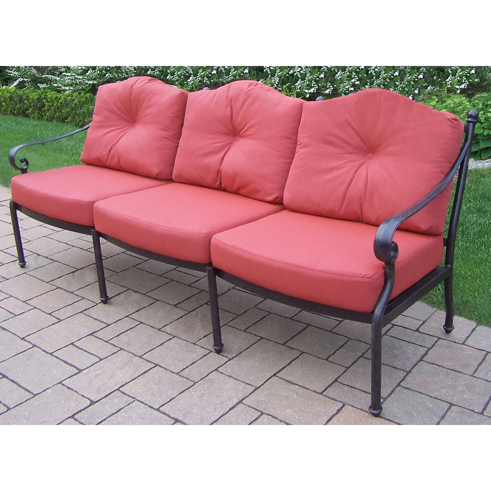 Oakland Living Berkley Patio Sofa with Cushion by Oakland Living Corporation