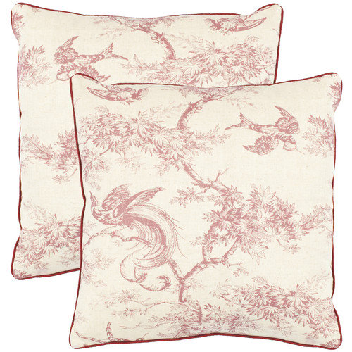 Safavieh Norah Cotton Throw Pillow (Set of 2)