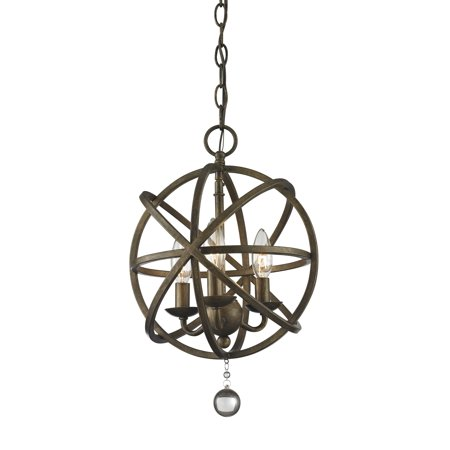 New zlite Product  Acadia Collection 3 Light Pendant in Golden Bronze Finish Sold by (Acadia Collection)