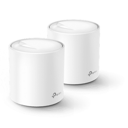 TP-Link WiFi 6 Mesh Router Replacement System   2- AX1800 Mesh Routers   Coverage up to 4,000 Sq ft.