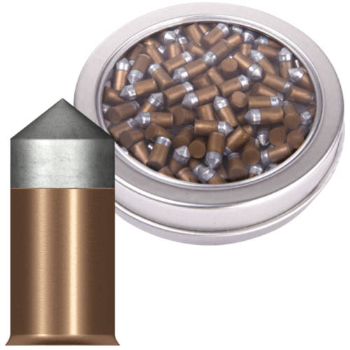 Crosman Powershot Gold Flight Penetrators .177 Caliber 8.5gr Lead Free Airgun Pellets, 125ct