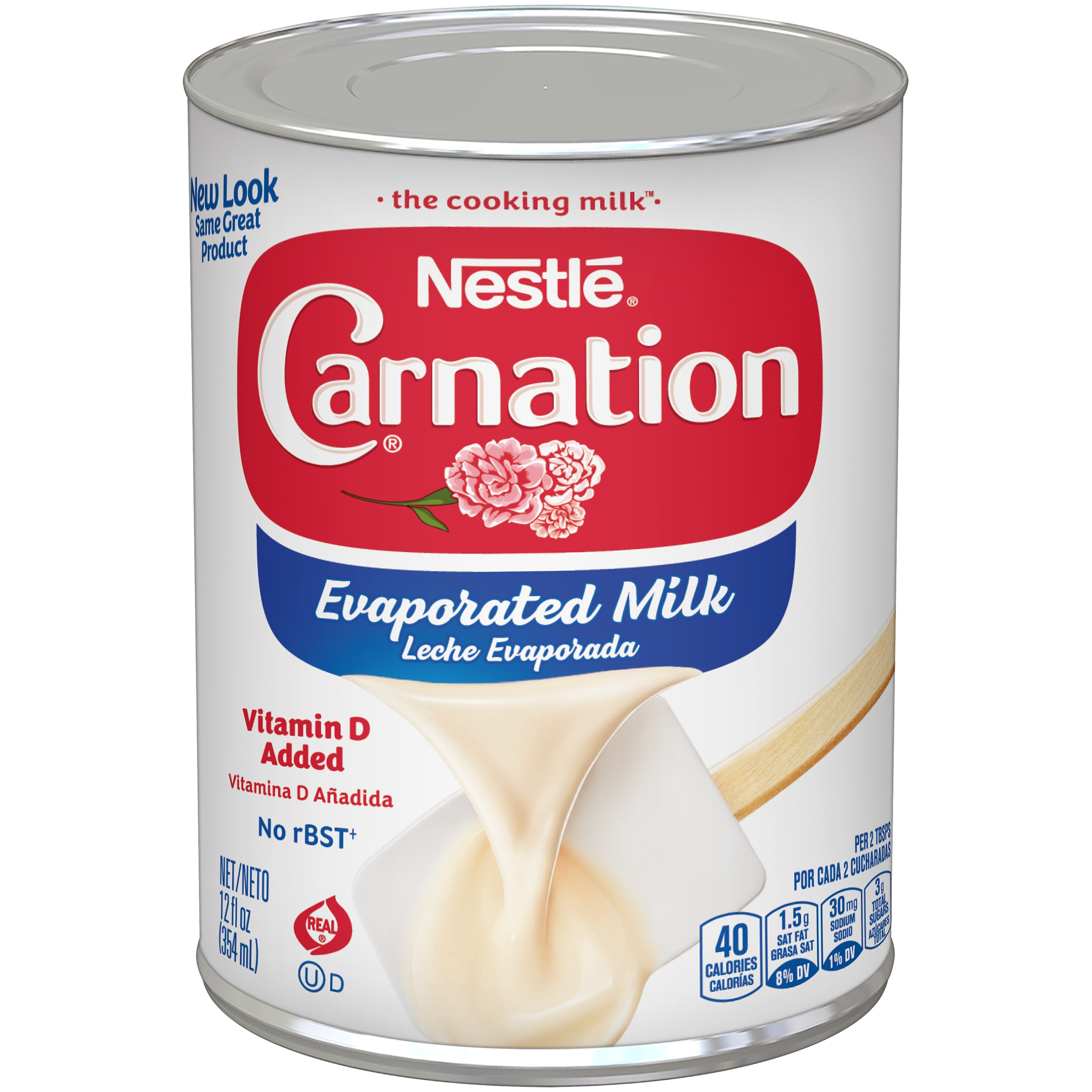 CARNATION Vitamin D Added Evaporated Milk, 12 fl oz Can