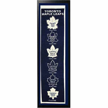 "NHL 14"" x 37"" Banner Frame, Toronto Maple Leafs by"