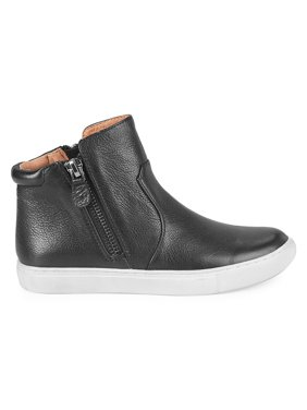 Carter Zipper Leather High-Sneakers