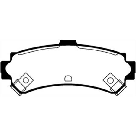 Sentra Rear Brake (EBC 95-97 Nissan Sentra 1.6 Greenstuff Rear Brake)