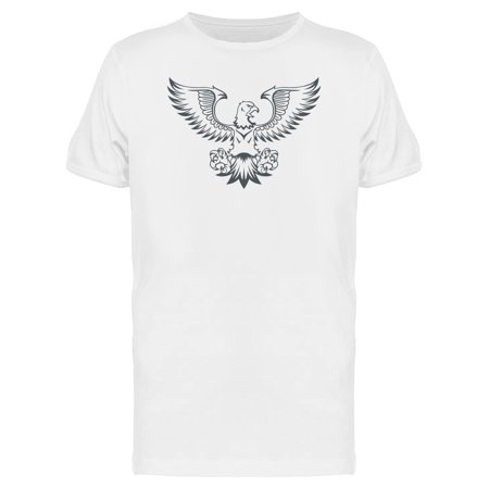 Eagle Flying  Tee Men's -Image by Shutterstock