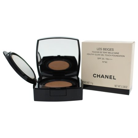 Les Beiges Healthy Glow Gel Touch Foundation SPF 25 - # 60 by Chanel for Women - 0.38 oz