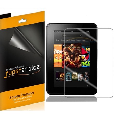 [3-Pack] Supershieldz for Amazon Kindle Fire HD 7