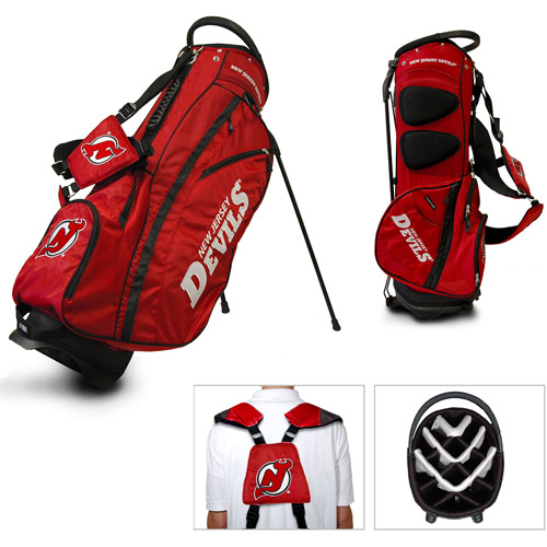 Team Golf NHL New Jersey Devils Fairway Golf Stand Bag