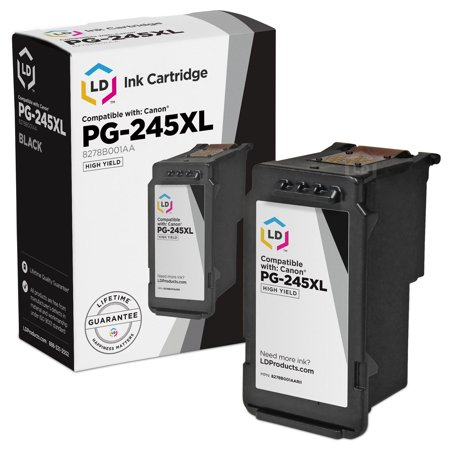 - LD © Remanufactured Replacement for Canon PG-245XL / 8278B001AA High Yield Black Inkjet Cartridge for use in Canon PIXMA iP2820, MG2420, MG2520, MG2920, MG2922, MG2924, and MX492 Printers