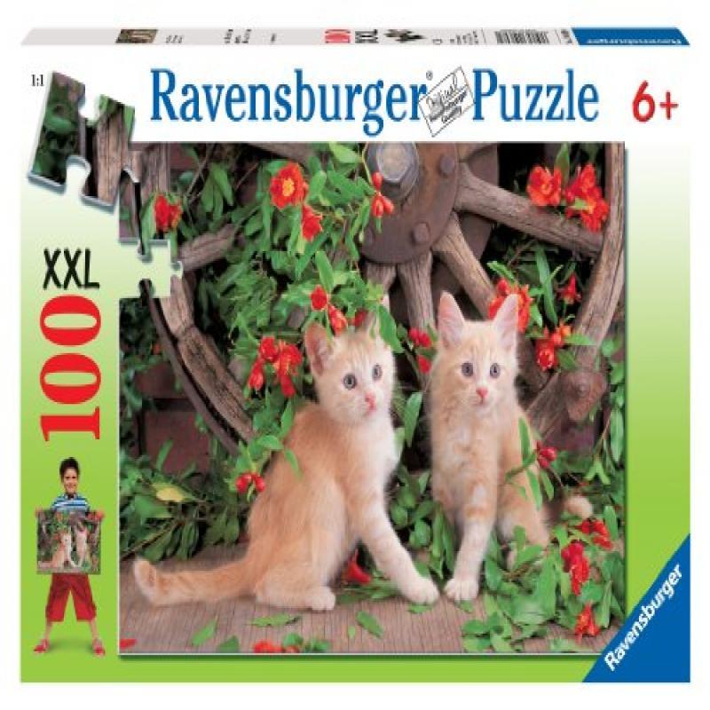 Ravensburger Pretty Kitties - 100 Pieces Puzzle