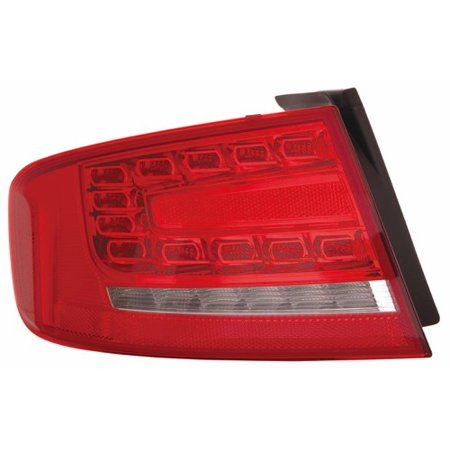 Go-Parts OE Replacement for 2010 - 2012 Audi S4 Rear Tail Light Lamp Assembly / Lens / Cover - Left (Driver) Side Outer - (Sedan) 8K5 945 095 L AU2804104 Replacement For Audi (2010 Audi S5 Review Car And Driver)