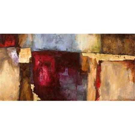 Tangletown Fine Art Rosso Fiorentino By Leonardo Bacci Poster Frame