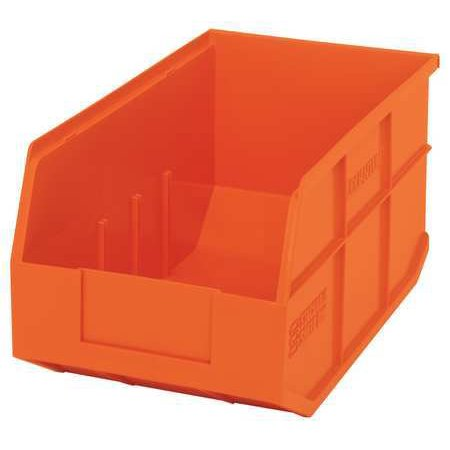 Quantum Storage Systems 60 lb Capacity, Shelf Bin, Orange SSB443OR