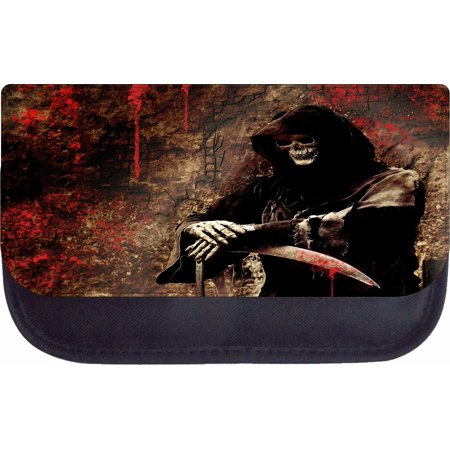 Devil Skeleton Skull Grim Reaper with a Bloody Sword - 5