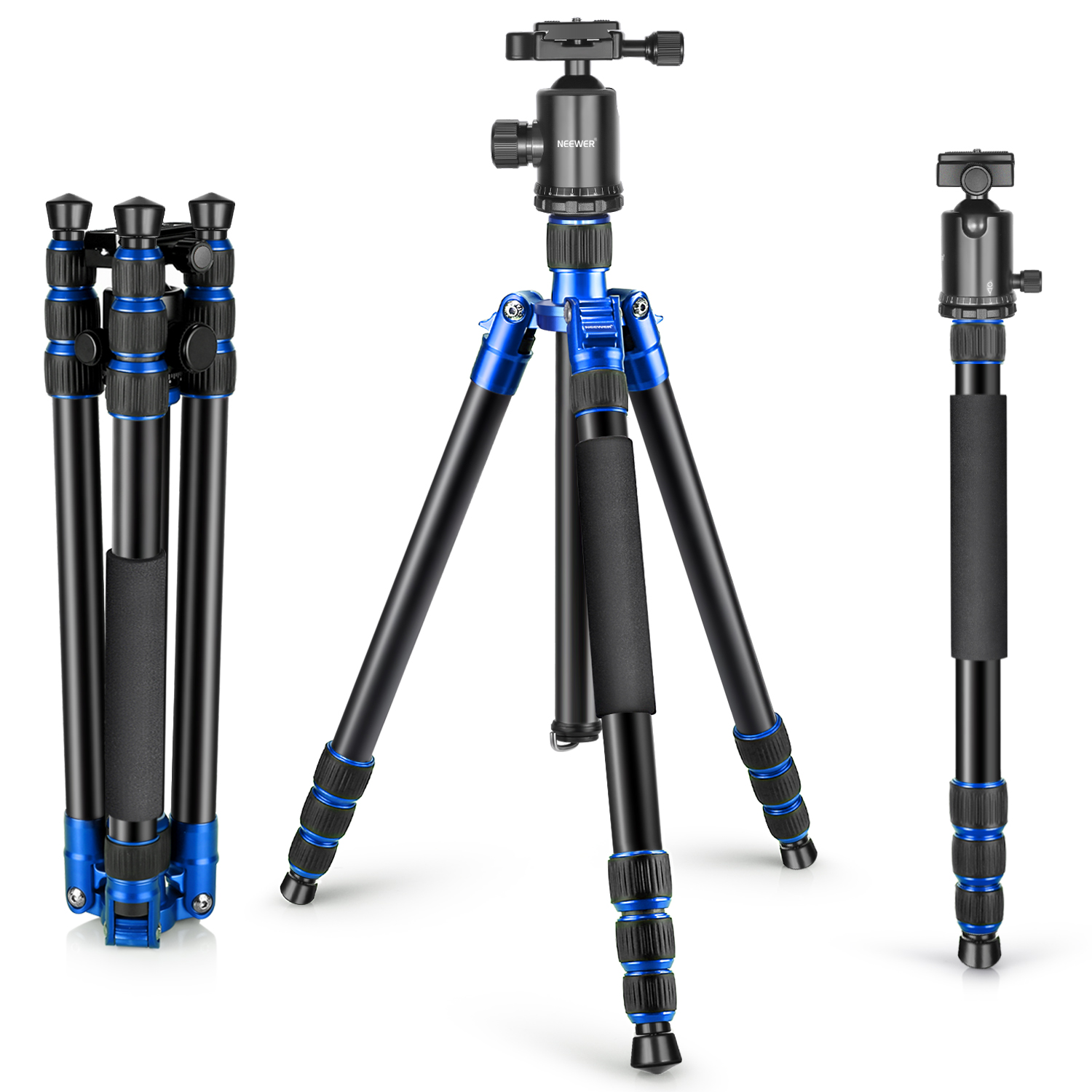 Neewer Alluminum Alloy 65 inches/165 centimeters Tripod M...