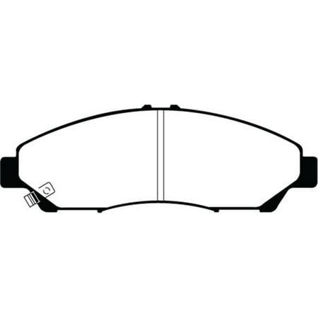 EBC 07-13 Acura MDX 3.7 Greenstuff Front Brake Pads