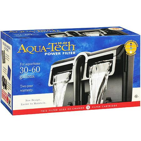 Aquatechpower filter 30 60 for 30 gallon fish tank walmart