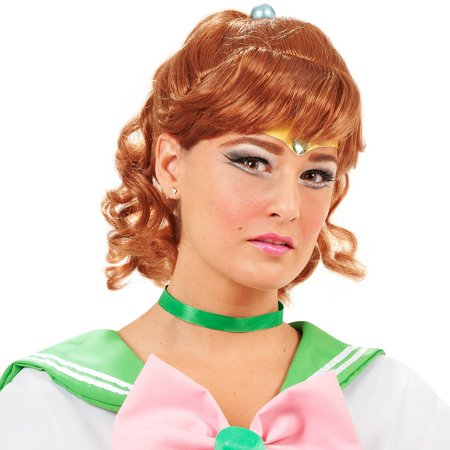 Sailor Moon Jupiter Costume Wig - Sailor Moon Costume Wig