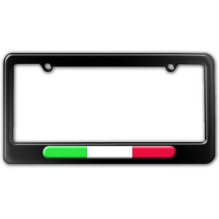 Italian Flag - Italy License Plate Frame - Walmart.com
