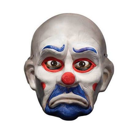 Batman Dark Knight Deluxe Joker Clown Mask Adult Halloween - Clown Joker Mask