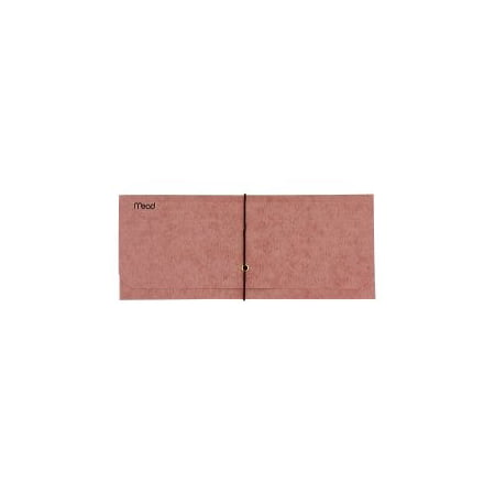- Mead Check Size Expanding File Wallet, Red, 4.5 x 9 in.