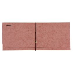 Check Size Expanding File Wallet, Red, 4.5 x 9 in