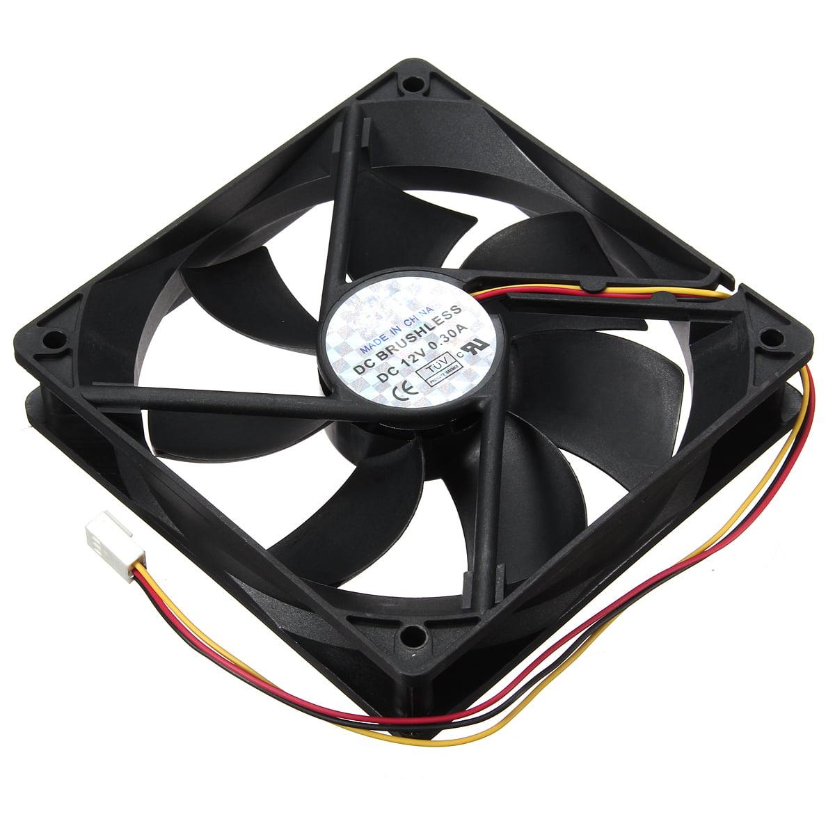 3 Pin 120mm 25mm Cooler Fan Heatsink Cooler Radiator For Computer PC CPU 12V USA